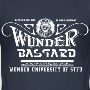 wonder bastard - Men's Slim Fit T-Shirt