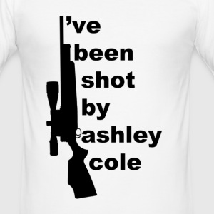 I've been shot by  T-Shirts - Men's Slim Fit T-Shirt