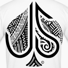 ACE of Spades Tribal  T-Shirts