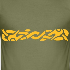 Anglo Saxon Braid 2 T-Shirts - Men's Slim Fit T-Shirt