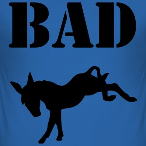 Bad Ass T-shirts - Herre Slim Fit T-Shirt