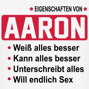 aaron T-Shirts - Männer Slim Fit T-Shirt