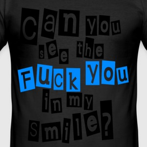 Can you see? - Männer Slim Fit T-Shirt