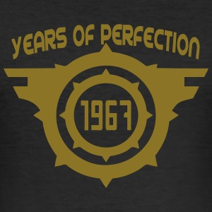 1967 years perfection logo anniversaire Tee shirts - Tee shirt près du corps Homme
