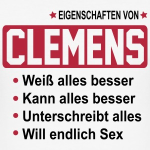 clemens T-Shirts - Männer Slim Fit T-Shirt