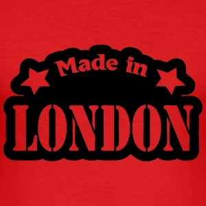 Made in London T-shirts - Herre Slim Fit T-Shirt