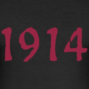 1 9 1 4   de - Männer Slim Fit T-Shirt