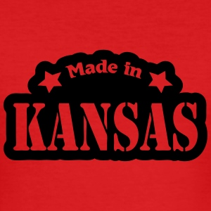 Made in Kansas Camisetas - Camiseta ajustada hombre