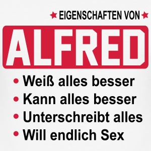 alfred T-Shirts - Männer Slim Fit T-Shirt