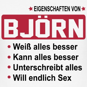bjoern T-Shirts - Männer Slim Fit T-Shirt