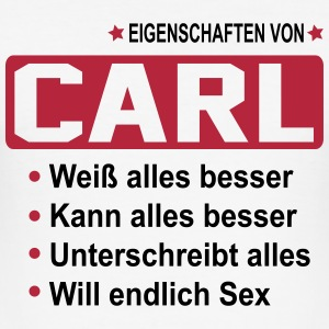 carl T-Shirts - Männer Slim Fit T-Shirt