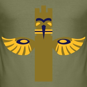 Native American Totem4 T-Shirts - Men's Slim Fit T-Shirt