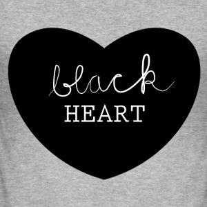 black heart T-skjorter - Slim Fit T-skjorte for menn