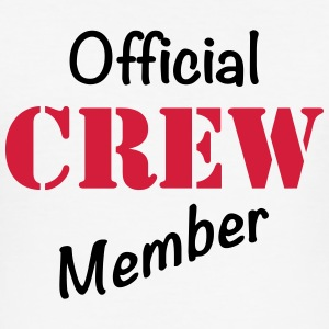 Official Crew Member T-shirts - Slim Fit T-shirt herr