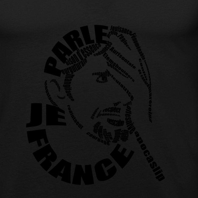 T-Shirt Je Parle France homme