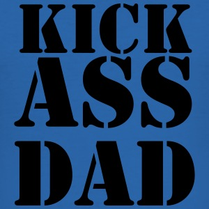 Kick ass Dad T-shirts - Slim Fit T-shirt herr