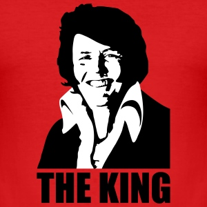 The King Willem Alexander/Elvis Koningsdag T-shirts - slim fit T-shirt