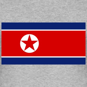 Flag North Korea (dd) T-shirts - Herre Slim Fit T-Shirt