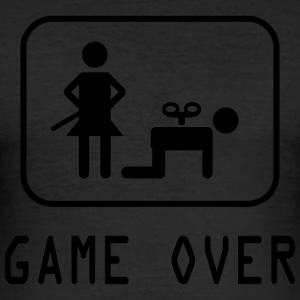 Game Over - Tee shirt près du corps Homme