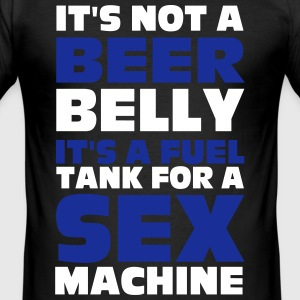 Beer Belly T-Shirts - Men's Slim Fit T-Shirt