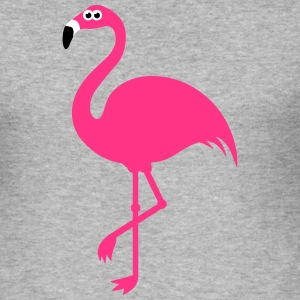 Funny Sweet Flamingo T-Shirts - Men's Slim Fit T-Shirt