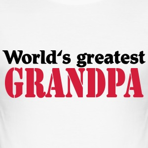 World's greatest Grandpa T-shirts - slim fit T-shirt