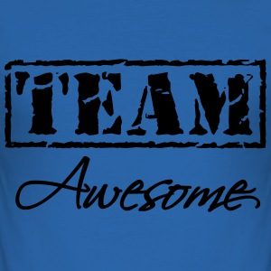 Team Awesome T-Shirts - Männer Slim Fit T-Shirt