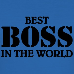 Best Boss in the World T-shirts - Slim Fit T-shirt herr