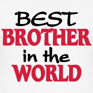 Best Brother in the World T-shirts - Slim Fit T-shirt herr