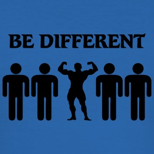 Be different Tee shirts - Tee shirt près du corps Homme