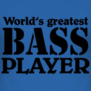 World's greatest Bass Player Tee shirts - Tee shirt près du corps Homme