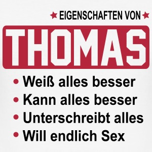 thomas T-Shirts - Männer Slim Fit T-Shirt