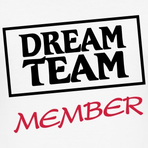 Dream Team Member T-shirts - Slim Fit T-shirt herr