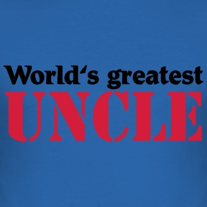 World's greatest Uncle T-shirts - Slim Fit T-shirt herr