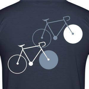 bike singlespeed fixie bicycle T-Shirts - Men's Slim Fit T-Shirt