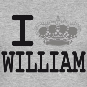 I love William -crown T-shirts - Tee shirt près du corps Homme