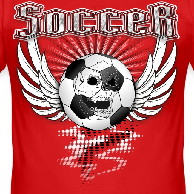 Fußball Soccer T-Shirt in American Style