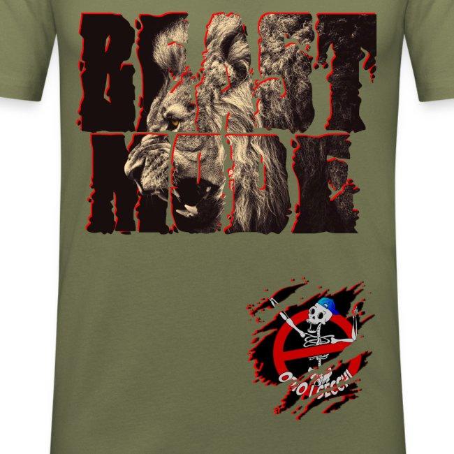 BEAST MODE T-Shirt Aderente