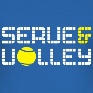 TENNIS: SERVE AND VOLLEY T-Shirts - Männer Slim Fit T-Shirt