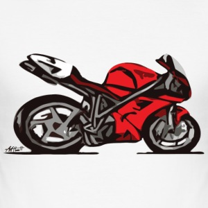 Superbike T-Shirts - Männer Slim Fit T-Shirt