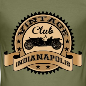 vintage car 04 T-Shirts - Men's Slim Fit T-Shirt