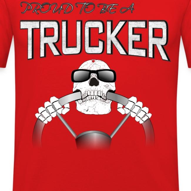 Trucker / Lkw Fahrer T-shirt