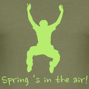 spring 's in the air! T-shirts - slim fit T-shirt