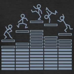 Dance on Equalizer T-shirts - Tee shirt près du corps Homme