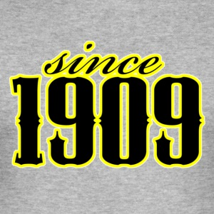 since 1909 (black) T-Shirts - Männer Slim Fit T-Shirt