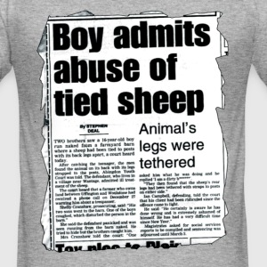 ABUSE OF SHEEP T-shirts - Tee shirt près du corps Homme
