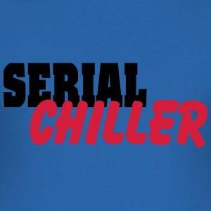 Serial Chiller T-Shirts - Men's Slim Fit T-Shirt