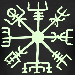Vegvisir, Magic, Runes,  Protection & Navigation Magliette - Maglietta aderente da uomo
