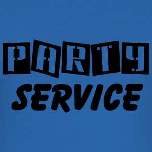 Party Service T-shirts - Herre Slim Fit T-Shirt
