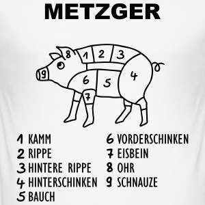 Metzger - Varken T-shirts - slim fit T-shirt
